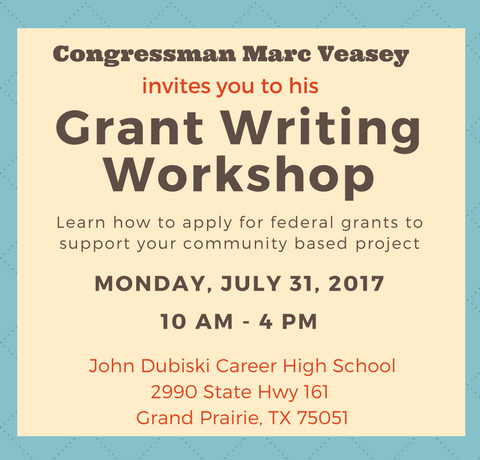 2017 Grant Workshop VEASEY