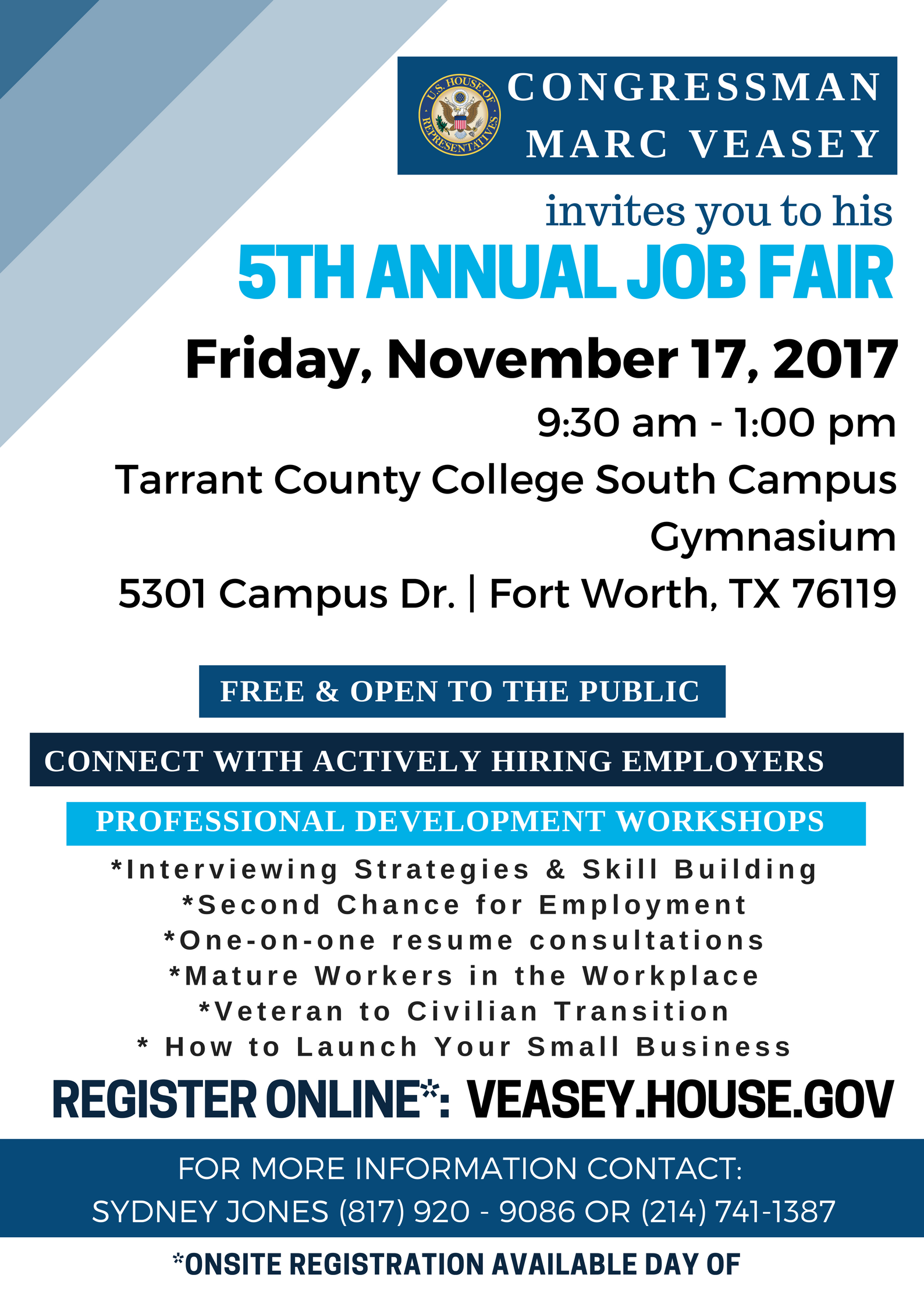 Veasey 5th Annual Job Fair