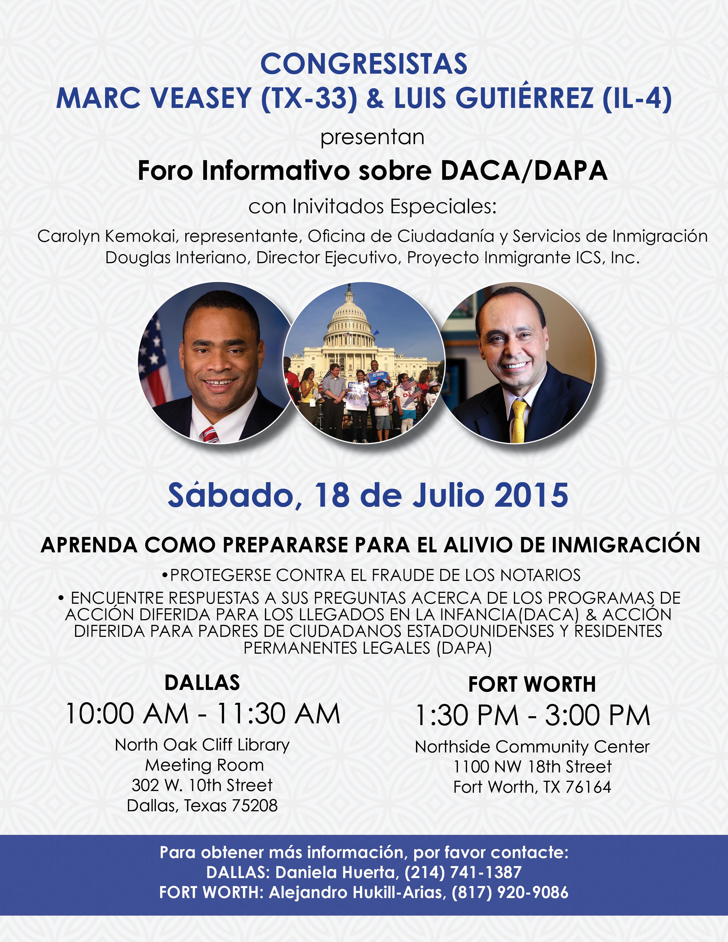 July 2015 | Congressman Marc Veasey