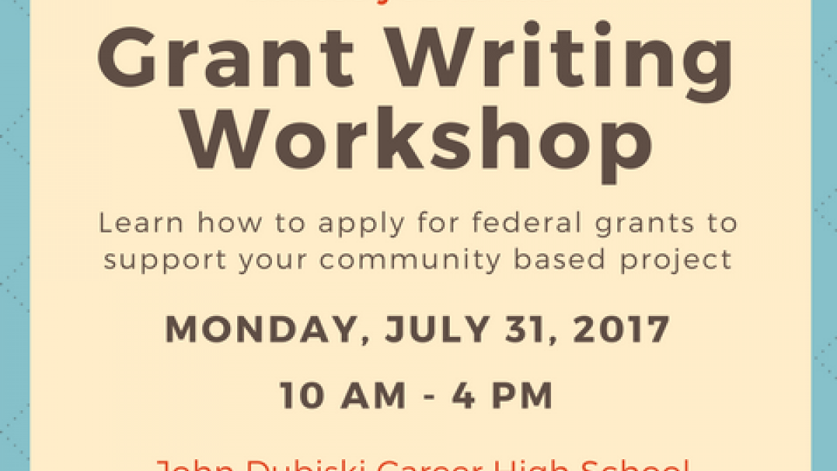 2017 Grant Workshop VEASEY