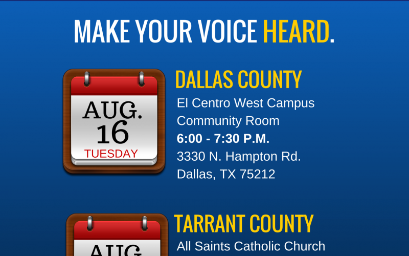 2016 August Town Halls - Rep. Veasey