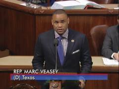 Congressman Veasey Urges Republicans to Pass a Bipartisan Budget