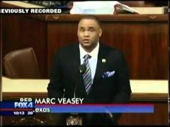 KDFW 1/28/14, Rep. Veasey Recognizes Adelfa Callejo