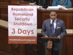Congressman Veasey Asks Republicans for Clean DHS Funding Bill