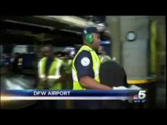 NBC 5 (KXAS): Congressman Marc Veasey Works as Baggage Handler