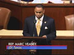 Rep. Veasey Speaks on the Opening of the Forest Hill Memorial Park
