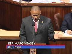 Congressman Veasey Denounces Continued Obstruction by House Republicans