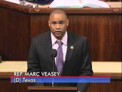 Rep. Veasey Congratulates Sam Houston High School Soccer Team