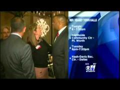 CBS 11 (KTVT): Congressman Veasey Hosts Town Hall Meetings in August