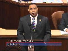 Rep. Veasey Floor Speech on Jobs and the Economy