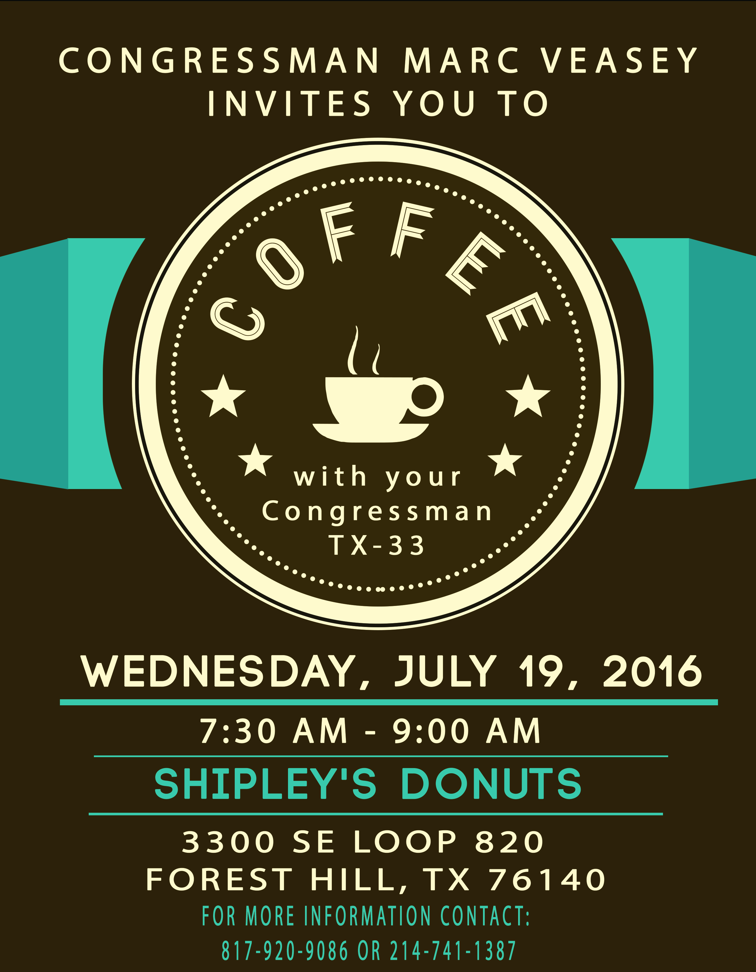 Coffee With Your Congressman - July 2016