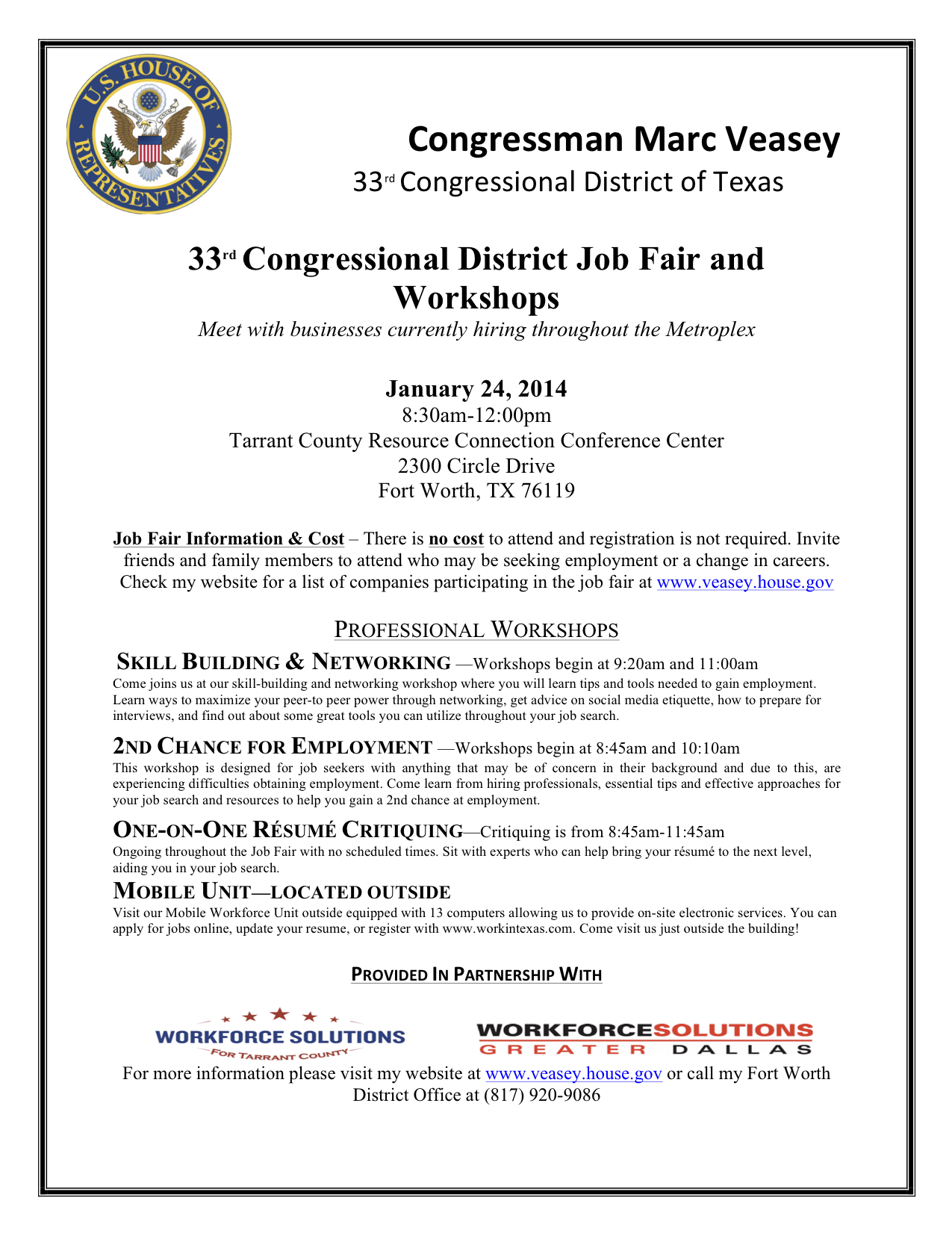Interviews for Top Jobs at Texas Workforce Commission